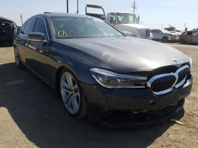 BMW salvage cars for sale: 2016 BMW 750 XI