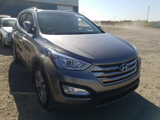 Salvage cars for sale from Copart Rocky View County, AB: 2015 Hyundai Santa FE S
