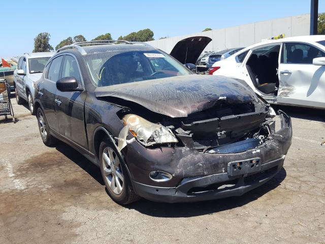 Salvage cars for sale from Copart Hayward, CA: 2008 Infiniti EX35 Base