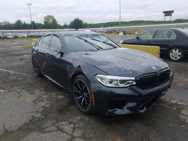 Salvage cars for sale from Copart Concord, NC: 2019 BMW M5