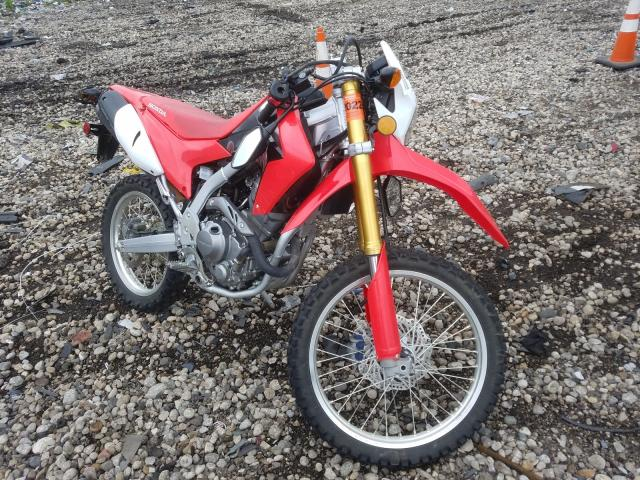 Salvage motorcycles for sale at Cudahy, WI auction: 2018 Honda CRF250 L