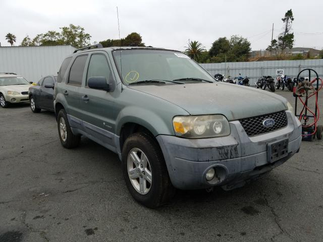 Ford Escape HEV salvage cars for sale: 2007 Ford Escape HEV