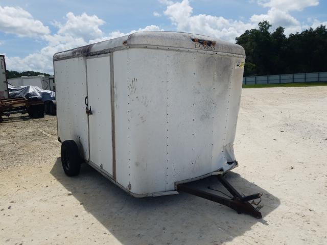 Salvage cars for sale from Copart Ocala, FL: 2004 Explorer Trailer