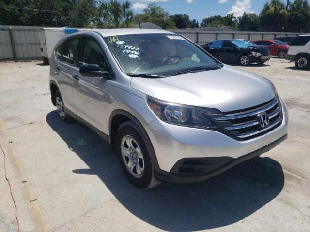 Salvage cars for sale from Copart Punta Gorda, FL: 2012 Honda CR-V LX