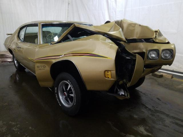 Pontiac GTO salvage cars for sale: 1970 Pontiac GTO