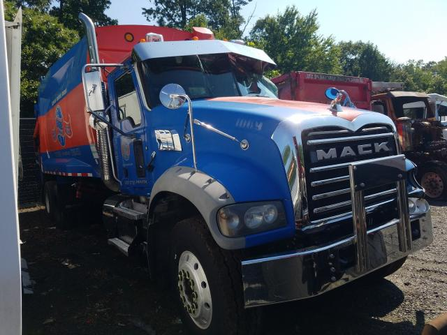 Mack 700 GU700 salvage cars for sale: 2013 Mack 700 GU700