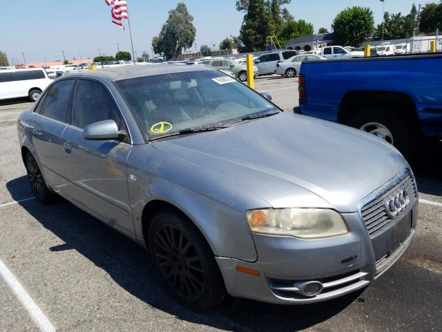 Audi A4 2 Turbo salvage cars for sale: 2006 Audi A4 2 Turbo