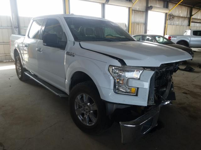 Salvage cars for sale from Copart Phoenix, AZ: 2016 Ford F150 Super