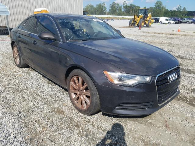Salvage cars for sale from Copart Spartanburg, SC: 2014 Audi A6 Premium