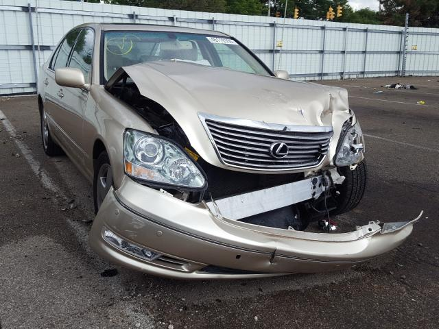 Salvage cars for sale from Copart Moraine, OH: 2005 Lexus LS 430
