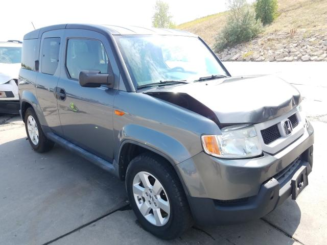 Honda Element EX salvage cars for sale: 2009 Honda Element EX