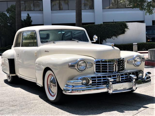 Salvage cars for sale from Copart Wilmington, CA: 1947 Lincoln Continental