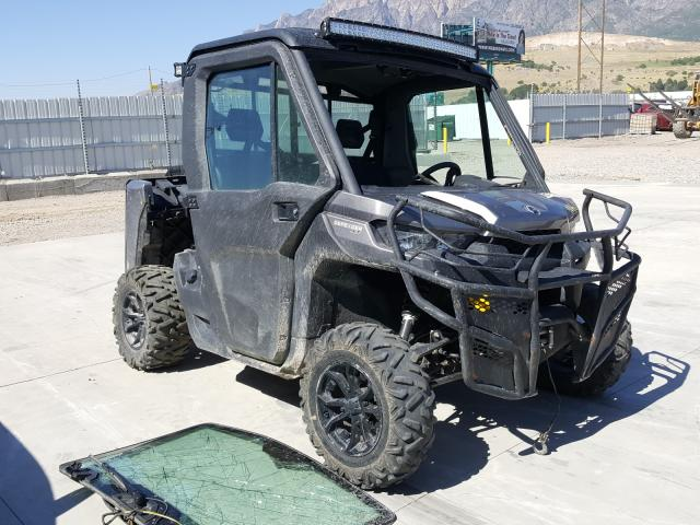 Salvage cars for sale from Copart Farr West, UT: 2018 Can-Am Defender X