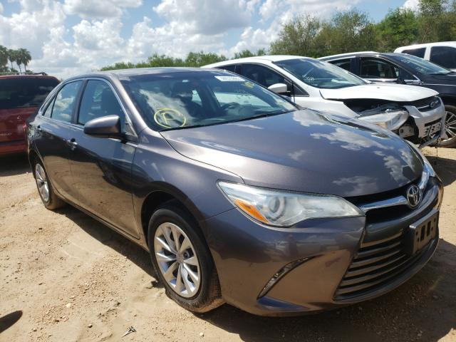 Salvage cars for sale from Copart Mercedes, TX: 2015 Toyota Camry LE