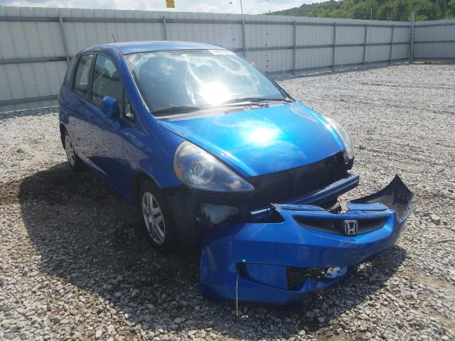 Honda FIT salvage cars for sale: 2007 Honda FIT
