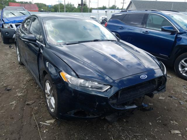 Salvage cars for sale from Copart Hammond, IN: 2014 Ford Fusion SE