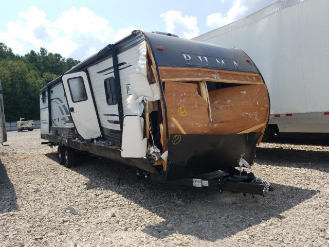 Palomino salvage cars for sale: 2020 Palomino Travel Trailer