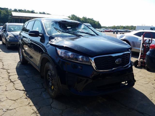 KIA Sorento L salvage cars for sale: 2019 KIA Sorento L