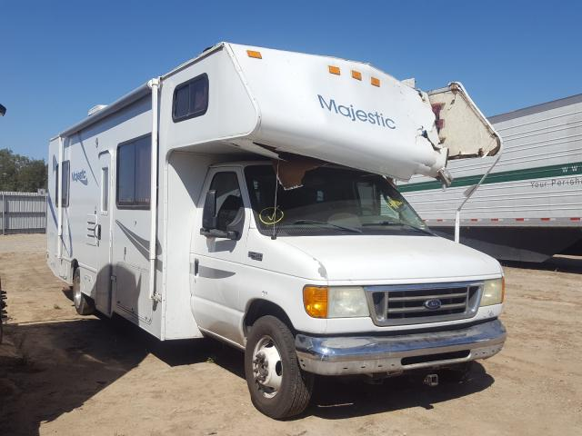 Salvage cars for sale from Copart Fresno, CA: 2006 Maje Motorhome