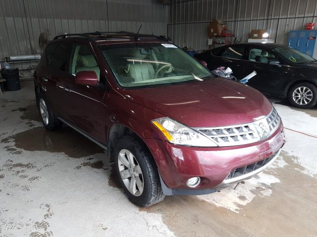 Nissan Murano SL salvage cars for sale: 2006 Nissan Murano SL