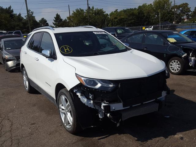 Salvage cars for sale from Copart Denver, CO: 2020 Chevrolet Equinox PR