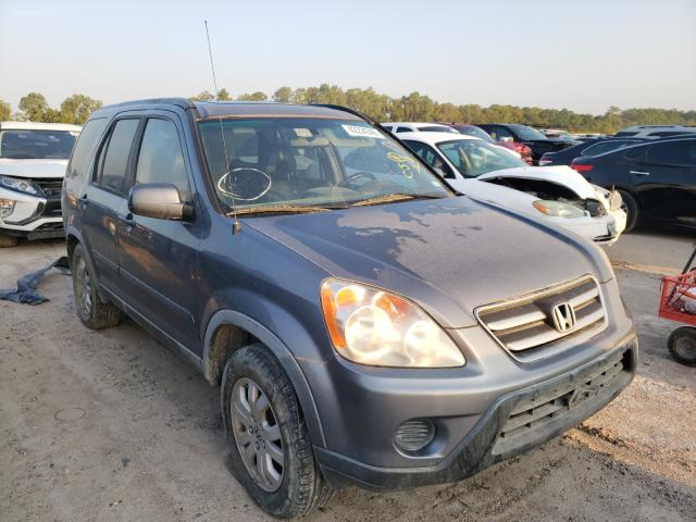 Salvage cars for sale from Copart Houston, TX: 2005 Honda CR-V SE