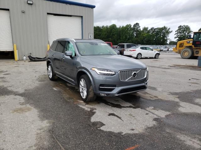 Salvage cars for sale from Copart Dunn, NC: 2016 Volvo XC90 T6