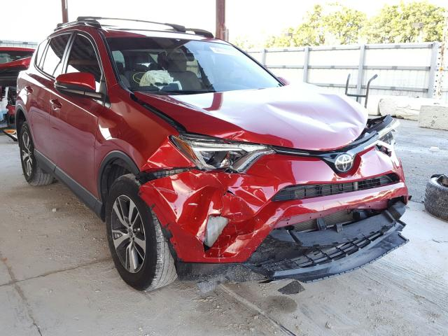 Toyota Rav4 XLE salvage cars for sale: 2017 Toyota Rav4 XLE