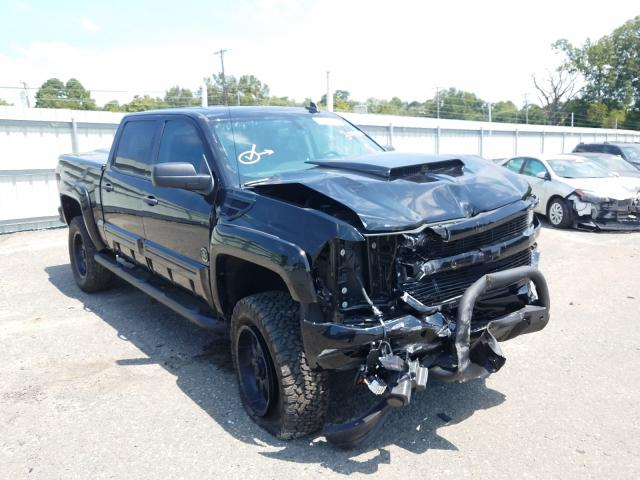 Salvage cars for sale from Copart Shreveport, LA: 2018 Chevrolet Silverado