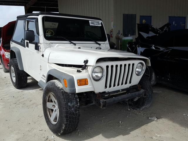 Salvage cars for sale from Copart Homestead, FL: 2004 Jeep Wrangler