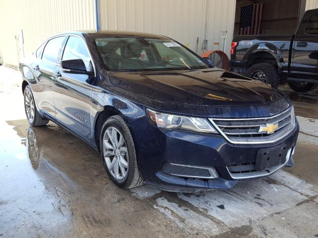 Salvage cars for sale from Copart San Antonio, TX: 2016 Chevrolet Impala LT