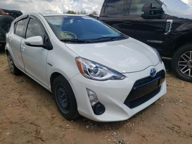 Salvage cars for sale from Copart Mercedes, TX: 2015 Toyota Prius C