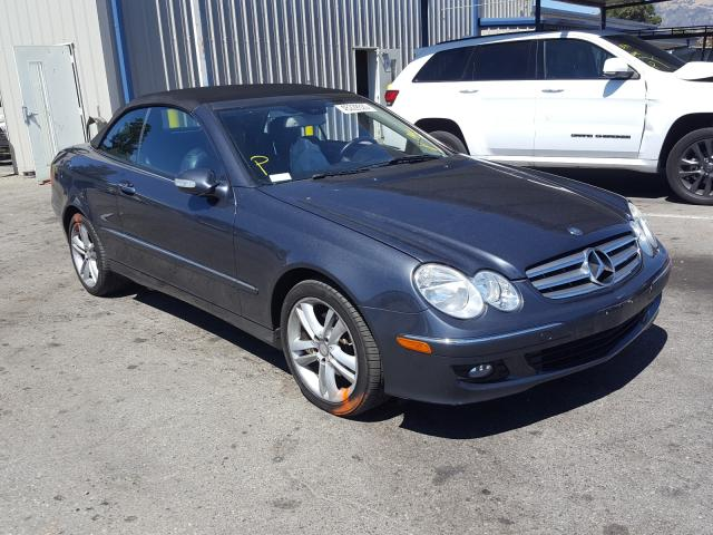 Salvage cars for sale from Copart San Martin, CA: 2008 Mercedes-Benz CLK 350