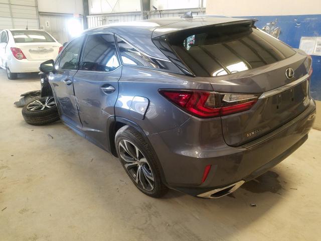2017 Lexus RX   Vin: 2T2ZZMCA5HC076044