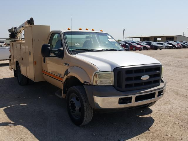 Ford F550 Super salvage cars for sale: 2005 Ford F550 Super