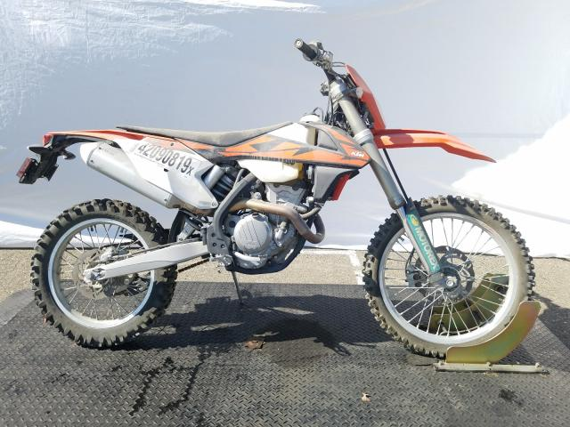 KTM salvage cars for sale: 2018 KTM 350 EXC-F