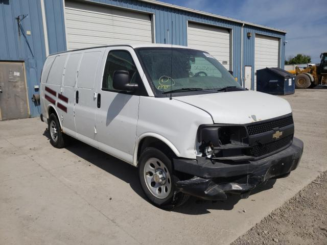 Chevrolet Express G1 salvage cars for sale: 2012 Chevrolet Express G1