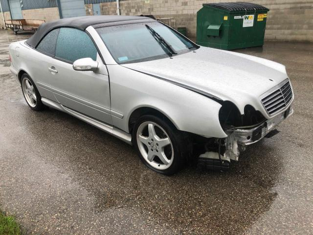 Salvage cars for sale from Copart London, ON: 2003 Mercedes-Benz CLK 430
