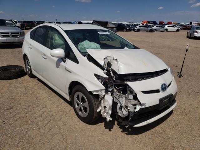 Salvage cars for sale from Copart Amarillo, TX: 2013 Toyota Prius
