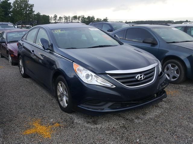 Salvage cars for sale at Harleyville, SC auction: 2014 Hyundai Sonata GLS