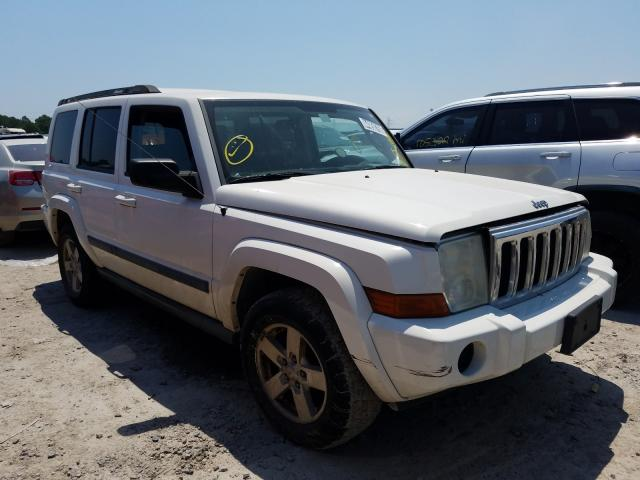 Salvage cars for sale from Copart Houston, TX: 2007 Jeep Commander