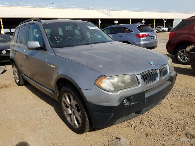 BMW salvage cars for sale: 2005 BMW X3 3.0I