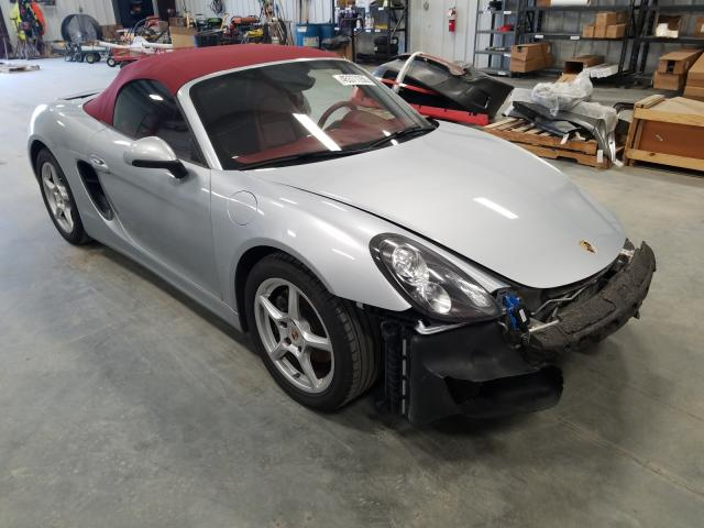 Salvage cars for sale from Copart Spartanburg, SC: 2014 Porsche Boxster