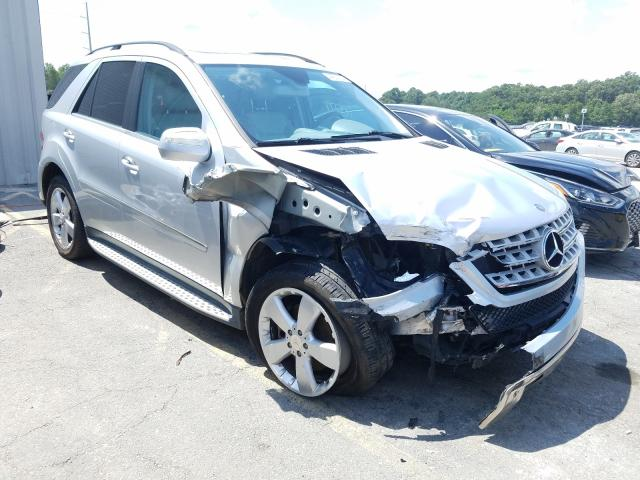 Salvage cars for sale from Copart Savannah, GA: 2010 Mercedes-Benz ML 350