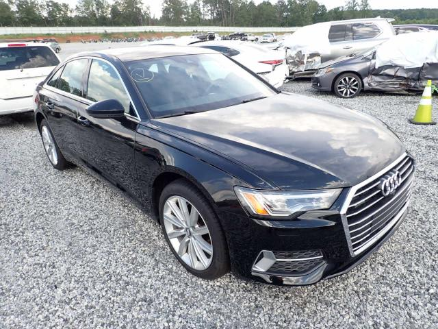 Salvage cars for sale from Copart Spartanburg, SC: 2019 Audi A6 Premium