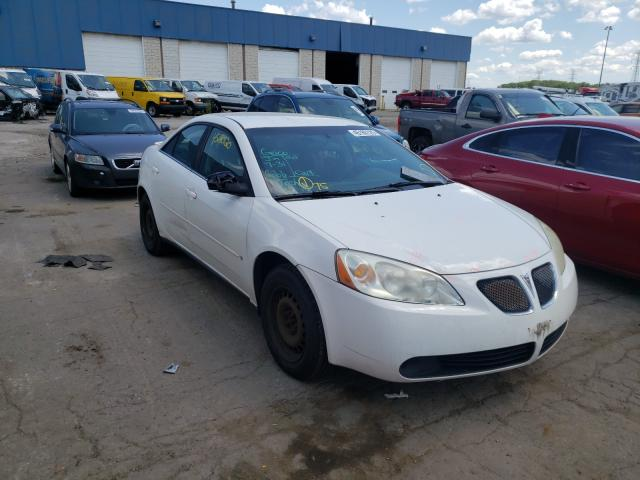 Pontiac salvage cars for sale: 2006 Pontiac G6 SE