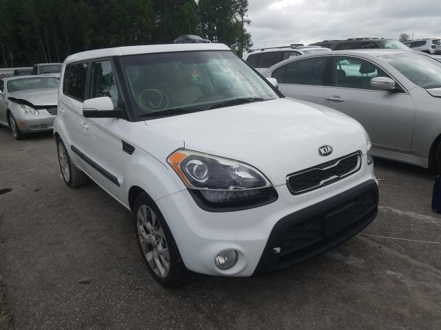 Salvage cars for sale from Copart Dunn, NC: 2013 KIA Soul +