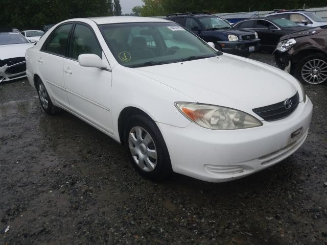 Salvage cars for sale from Copart Arlington, WA: 2002 Toyota Camry LE