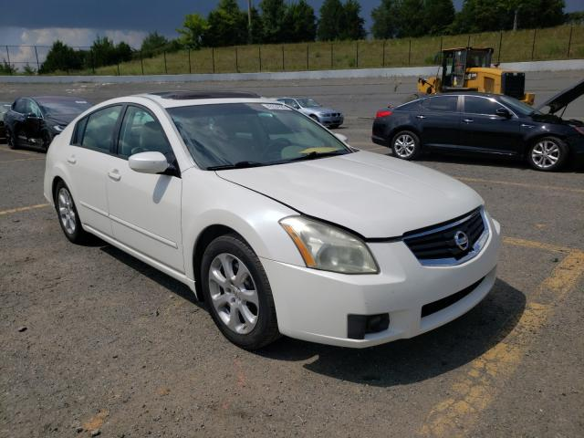 Nissan Maxima salvage cars for sale: 2007 Nissan Maxima