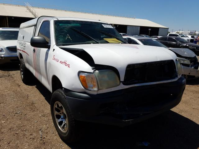 Toyota Tundra salvage cars for sale: 2002 Toyota Tundra